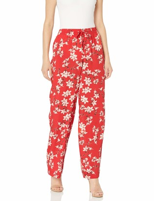 Calvin Klein Women's Printed Wide Leg Pant