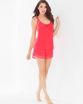 Soma Intimates Lidia Cami Sleep Shorts Set Coral