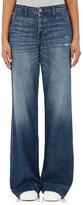 NSF Women's Hepburn Wide-Leg Jeans-BLUE