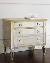 Horchow Amelie Mirrored Drawer Chest