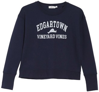 Vineyard Vines Edgartown Crew Neck Pullover Sweatshirt