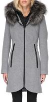 Soia & Kyo Charlena Fx Wool Coat