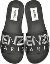 Kenzo Black Neoprene Men's Sandals