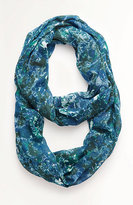 J. Jill Blurred Bouquet Infinity Scarf