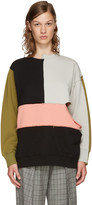Perks And Mini Multicolor Complex Split Sweatshirt