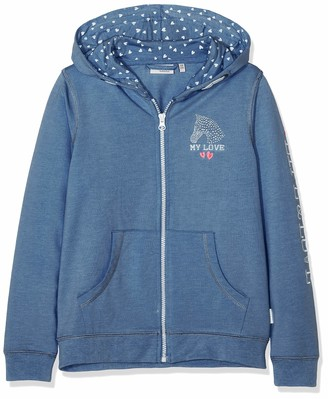 Salt&Pepper Salt and Pepper Girls' Jacket Horses uni Kap Track