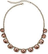 Arizona Peach Crystal Link Necklace