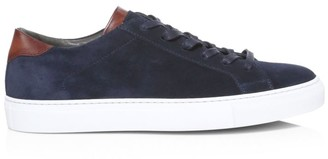 To Boot Alpha Suede & Leather Sneakers