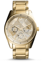 Fossil Justine Multifunction Gold-Tone Stainless Steel Watch