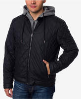 Buffalo David Bitton Men's Layered-Look Quilted Bomber Jacket