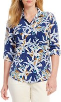 Tommy Bahama Orchid You Not Cargo Pocket Shirt
