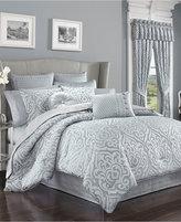 J Queen New York Harrison Chrome Queen Comforter Set