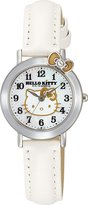 SANRIO Hello Kitty Classic Ribbon Watch (White) -Hello Kiity Watch (Lady / Girls size) (japan import)
