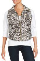 MICHAEL Michael Kors Packable Zip-Front Vest
