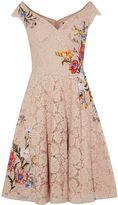 Karen Millen Dreamy Embroidered Lace Dress