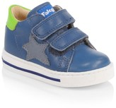 Naturino Baby's & Little Boy's Leather Grip-Tape Star Sneakers