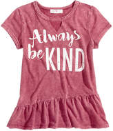 Kandy Kiss Always Be Kind Graphic T-Shirt, Big Girls (7-16)