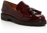 Stuart Weitzman Manila Leather Platform Loafers