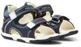 Geox Navy Infants Tapuz Velcro Sandals
