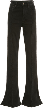 Y/Project High-Rise Stretch Trumpet Jeans