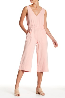 Lucky Brand Culotte Cropped Romper