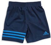 adidas Boys 2-7 Little Boys Defender Jersey Mesh Shorts