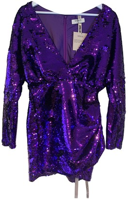 House Of CB Purple Glitter Dresses