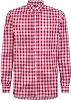 Lacoste Men's Long Sleeved Casual Woven Shirt