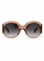 Matthew Williamson Blush Oversized Sunglasses