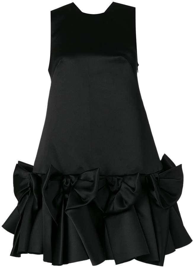 Viktor & Rolf Viktor&Rolf Soir Bow Volant mini dress