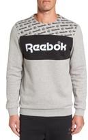 Reebok Men's Graphic Crewneck Sweatshirt