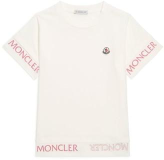 Moncler Kids Logo Stripe T-Shirt (12-14 Years)