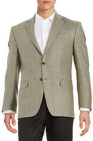 Lauren Ralph Lauren Checkered Wool Blazer