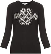 Diane von Furstenberg Intarsia Sweater