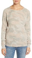 Zadig & Voltaire Women's Crisp Camo Cashmere Sweater