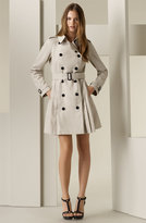 Burberry Pleated Trench Coat
