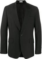 Alexander McQueen fitted buttoned blazer