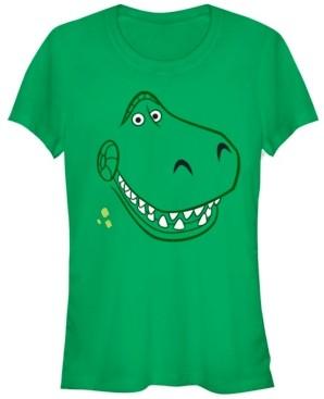Fifth Sun Disney Pixar Women's Toy Story Rex Halloween Short Sleeve Tee Shirt