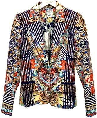 Camilla Multicolour Cotton Jacket for Women