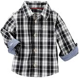 Osh Kosh Baby Boy Plaid Poplin Shirt