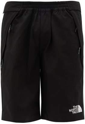 The North Face Black Series - Logo-print Technical-canvas Shorts - Mens - Black