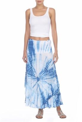 BOHO ME Tie Dye Convertible Cover-Up Skirt/Dress