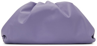 Bottega Veneta Purple The Pouch Clutch