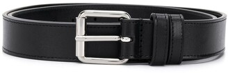 Comme des Garcons Square-Tip Leather Belt
