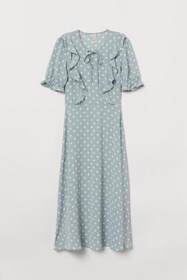H&M Dress with Ruffles