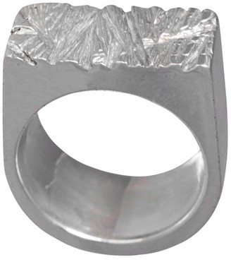 Edge Only Rugged Ring Silver