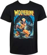 Wolverine Marvel Comics Knee Deep Adult T-Shirt Tee