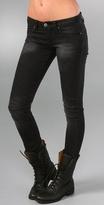 Blank Denim Motorcycle Skinny Jeans