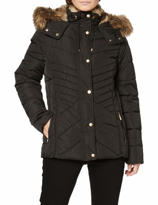New Look Petite Women's P OP Fitted Padded Puffer:1:S6 Jacket