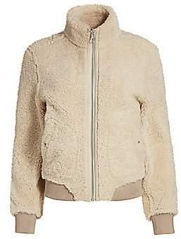 Rag & Bone Women's Jodi Reversible Shearling Jacket